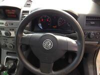 Vauxhall zafira, 1 years mot, diesel,