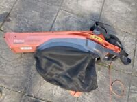 Leaf blower / vacuum by Flymo, in good condition and working order. Little use.