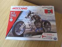 Meccano 5 in 1 Model Motorcycle
