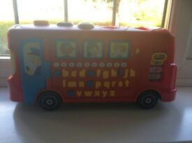 Vtech Playtime learning bus