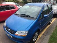 Fiat idea 2004 PERFECT DRIVE. LONG MOT. LOW MILES ELEGANZA