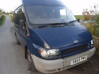 ford transit 260 swb 2006 great driving van but needs welding