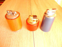 3 Cigarette Lighters (Table Lighters)