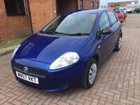 FIAT GRAND PUNTO 1.2 ACTIVE 5 DOOR (57) NICE MILES, SERVICE HISTORY, HPI CLEAR.