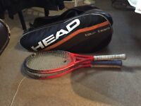head 12 racket tennis bag