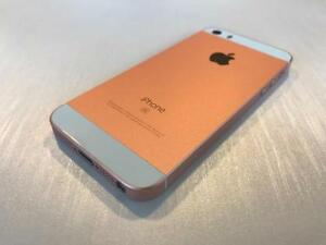 Bell or Virgin iPhone SE 64GB Rose Gold - 10/10 - Guaranteed Activation + No Blacklist