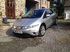 Honda Civic 2.2 diesel Great mpg, clean inside and out, xenons and 2 keys REDUCED!!!