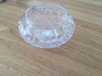 Stuart cut glass crystal bowl