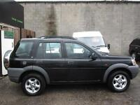 LAND ROVER FREELANDER 1.8 Xi Station Wagon 5dr (black) 2000