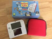 Nintendo 2DS (with game and case)