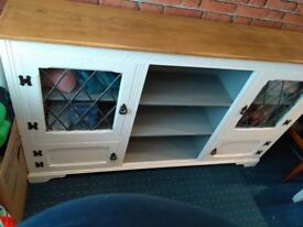 shabby chic side board very good condition