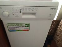 As New Beko Dishwasher in white