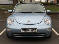 2004 VW BEETLE CONVERTIBLE * 1.9 TDI * 1 YEAR MOT * PART EXCHANGE * DELIVERY * SUMMER BARGAIN