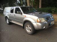 NISSAN NAVARA D22 2.5 DI DOUBLE CAB 4X4 PICKUP JEEP, MANUAL, STARTS & DRIVES, TURBO WHISTLE, SPARES
