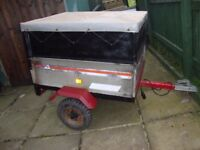 TRAILER ERDE 101 WITH HIEGHTENDED SIDES