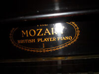 Pianola 1950s : The Mozart British Player Piano (located in Sunderland SR4)