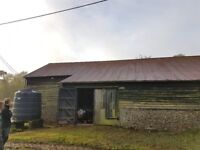 Farm Industrial Steel buildings repairs alterations tin sheets gutter repairs refurbishment Cambs