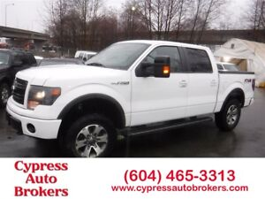 2014 Ford F-150 FX4 (Navigation, Leather & Sunroof)