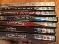 Superhero Bundle of DVDs