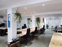 DESK SPACE incl EVENT SPACE / PHOTO STUDIO use - Hoxton, Shoreditch, Hackney