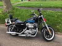 Harley Davidson 883 Sportster Superlow