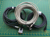 3 x Audio Visual Cables Various
