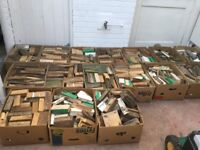 Boxes of wood - ideal for wood burners or open fires