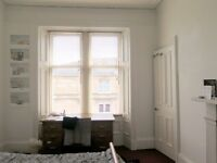 Bright spacious room in Woodlands tenement flat, 1 week let available 25th Aug- 1st September