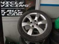 PEUGEOT 307 ALLOYS FOR SALE BARGAIN!!!