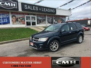 2013 Dodge Journey R/T V6 AWD NAV CAM LEATH *CERTIFIED*