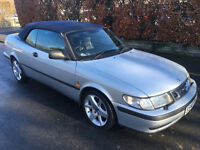 REDUCED!! Saab 9-3 2.0 Turbo SE 2dr Convertible. need gone! make me an offer!