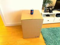 10 NEW Double Wall Cardboard Boxes 45.7 x 45.7 x 61.0 cm Load Approx. 20kg