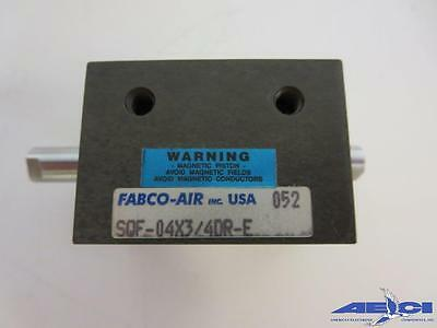 Fabco-air Sqf-04x34dr-e Square 1 Compact Air Cylinder