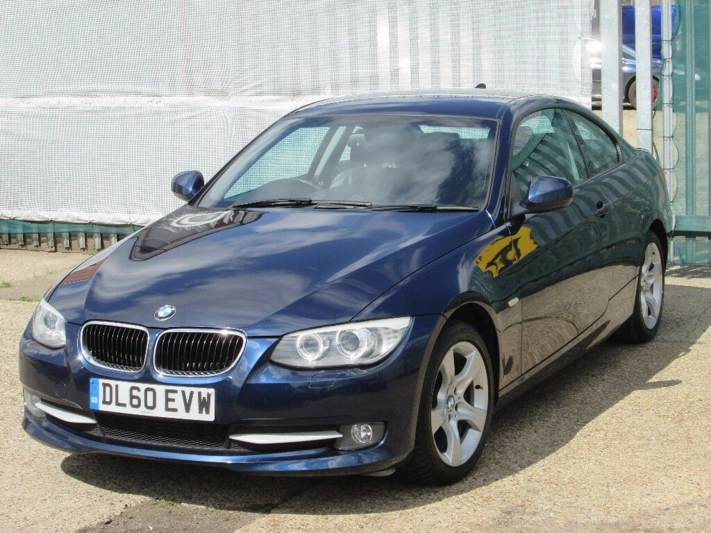 2011 60 reg coupe bmw 3 series 2 0 320d se 2dr sat nav. Black Bedroom Furniture Sets. Home Design Ideas