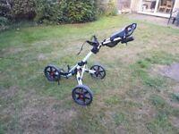 Clicgear 3.0 three wheels push trolley