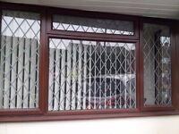 Mahogany uPVC window 1300x2400 £110