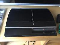 PS3 80gb and games