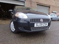 💥09 FIAT PUNTO 1.4,5 DOOR HATCHBACK,MOT AUG 017,2 OWNERS FROM NEW,2 KEYS,PART HISTORY,STUNNING CAR
