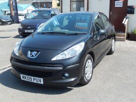 09/09 Peugeot 207S 1.6HDi (90) Diesel 5dr, Grey.**£30 Road Tax, Part History, MOT May 2018**