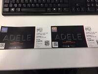 x2 Tickets Adele Wembley Stadium Saturday 01st July - Pitch Standing
