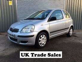 2005 TOYOTA YARIS 1.0 VVTI **FULL YEARS MOT** similar to clio punto polo corsa c3 alto 107