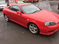 LOW MILEAGE HYUNDAI COUPE 2006 MOT TILL 11/10/2017 EXCELLENT CONDITION