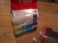 Canon Pixma (41) colour ink cartridge x 2