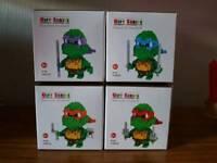 Nano Blocks Ninja Turtles x 4