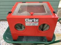 Clarke blast cabinet