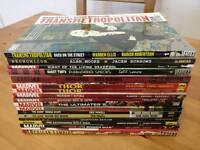 Various graphic novels (17)