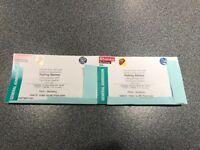 2x Rolling Stones tickets Pitch Standing - London Twickenham 19 June