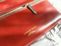 Aspinal of London Leather Wash/Travel Bag