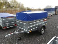 New Trailer (6 x 4 x 2,17) double broadside with cover - £750 inc vat