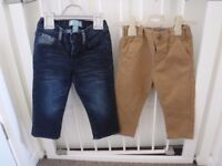 Boys Jeans 12-18mth & 18-24mth